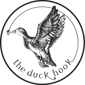 The Duck Hook Logo Vector
