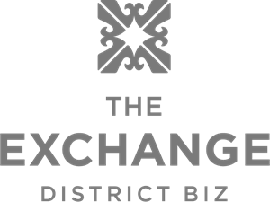 THE EXCHANGE DISTRICT BIZ Logo Vector