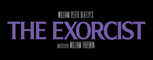 The Exorcist Logo Vector