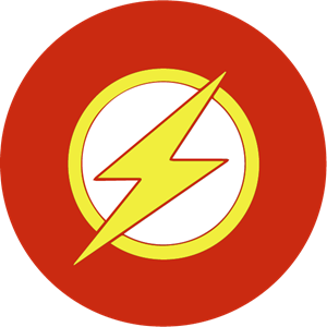 The Flash Logo Vector