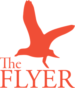 The Flyer Logo Vector
