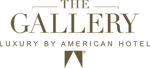 The Gallery Luxury by American Hotel Logo Vector