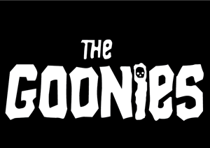 The Goonies Logo Vector