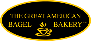 The Great American Bagel Bakery Logo Vector