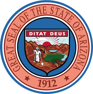 the great seal of the state of Arizona Logo Vector