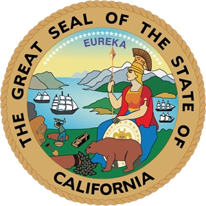 the great seal of the state of California Logo Vector