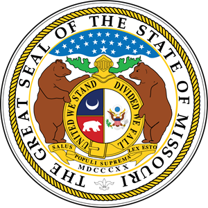 The Great Seal of The State of Missouri Logo Vector