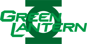 The Green Lantern Logo Vector