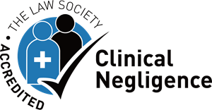 The Law Society Accredited Clinical Negligence Logo Vector