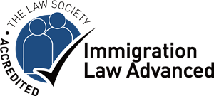 The Law Society Accredited Immigration Law Advance Logo Vector