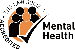 The Law Society Accredited Mental Health Logo Vector