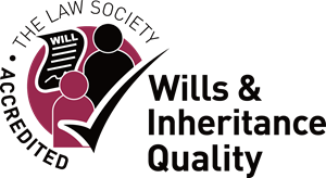 The Law Society Accredited Wills & Inheritance Logo Vector