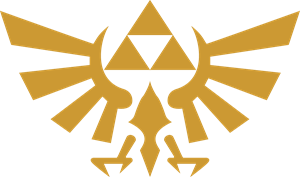 The Legend of Zelda - Hyrulian Crest Logo Vector
