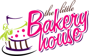 The Little Bakery House Logo Vector