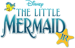 The Little Mermaid Jr Logo Vector