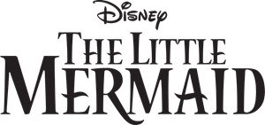 The Little Mermaid Logo Vector