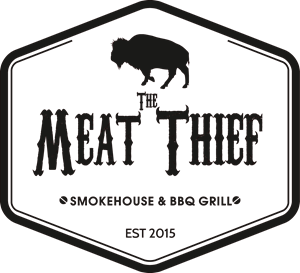 The Meat Thief Logo Vector