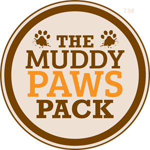 The Muddy Paws Pack Logo Vector