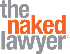 The Naked Lawyer Logo Vector