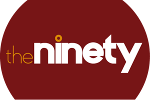The Ninety circle Logo Vector