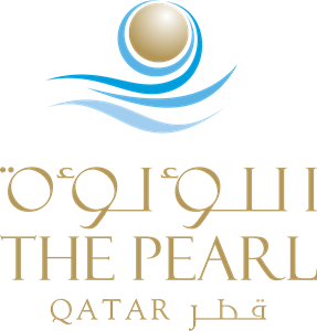The Pearl Qatar Logo Vector