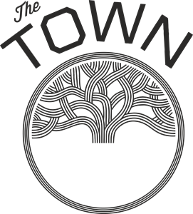 THE TOWN Logo Vector