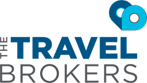 The Travel Brokers Logo Vector
