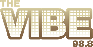 The VIBE 98.8 Radio Logo Vector