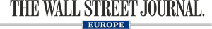 The Wall Street Journal Europe Logo Vector