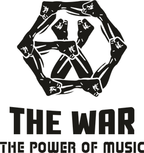 THE WAR THE POWER MUSIC Logo Vector