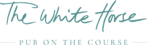The White Horse Pub on the Course Logo Vector
