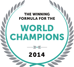 The Winning Formula for The World Champions 2014 Logo Vector