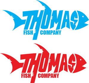 Thomas Fish Logo Vector