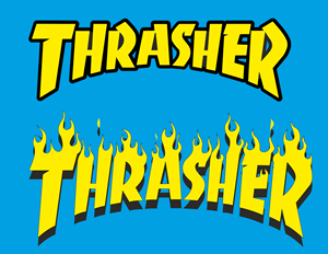 Thrasher Logo Vector