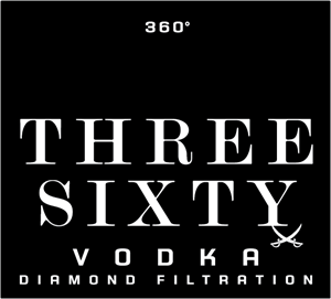 Three Sixty Vodka Logo Vector