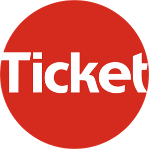 Ticket Restaurante Logo Vector