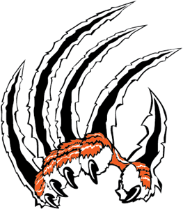Tiger hand Logo Vector