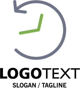 Time Concept Logo Vector