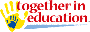 Together in Education Logo Vector