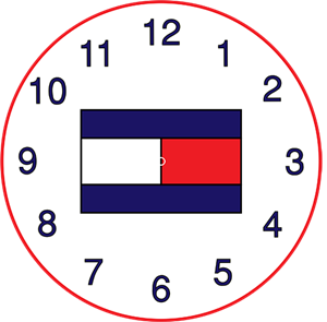 Tommy Hilfiger clock cover Logo Vector