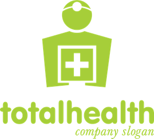 Total Health Logo Vector