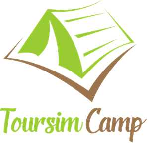 Tourism Camp Logo Vector