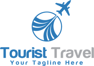 Tourist Travel Logo Vector