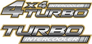 Toyota Turbo Intercooler Logo Vector