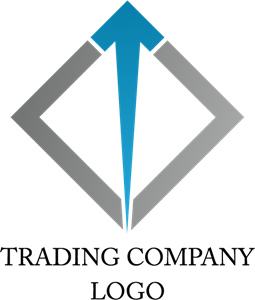 Trading Forex Arrow Logo Vector