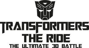 Transformers The Ride Logo Vector