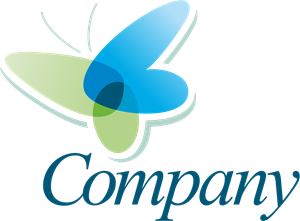 Transparent Butterfly Logo Vector