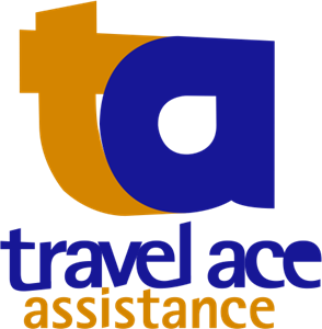 Travel Ace Assistance Logo Vector