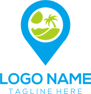 Travel location Logo Vector