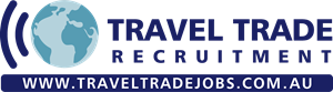 Travel Trade Recruitment Logo Vector